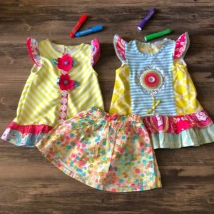 🐠 Emily Rose Toddler Dress Bundle